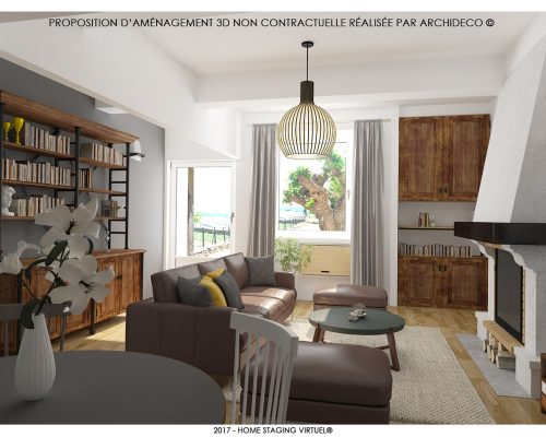 Home staging 3D - Agence Grossi