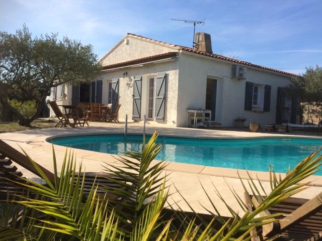 Aups, charmante villa avec piscine sur 954 m2 de terrain