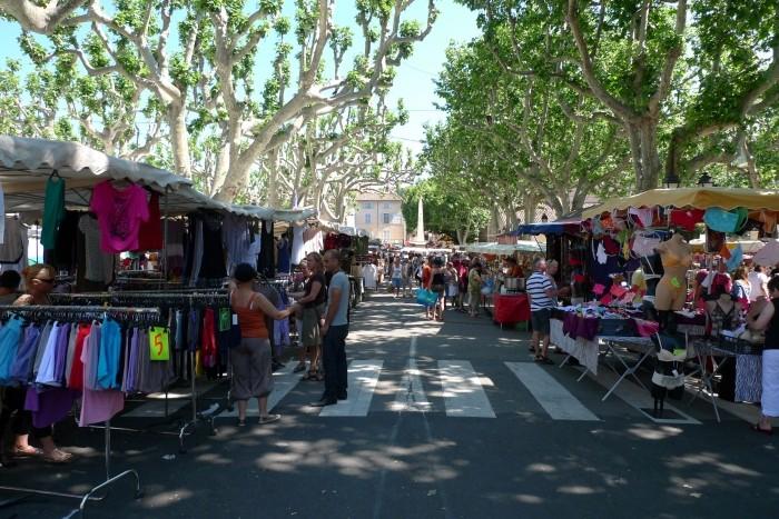 Le Marché Provençal d'Aups, dans le Var